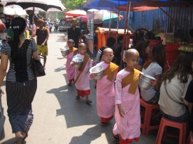 Little daughters of Buddha