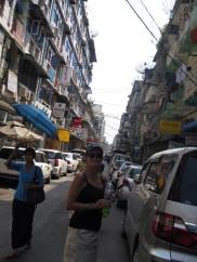 Yangon streetscape