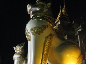 Shwedagon pagoda protectors