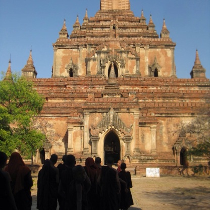One of many Bagan pagodas