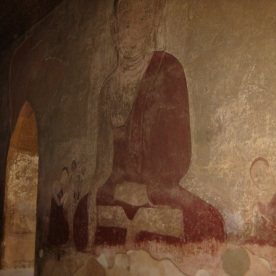 Temple wall painting