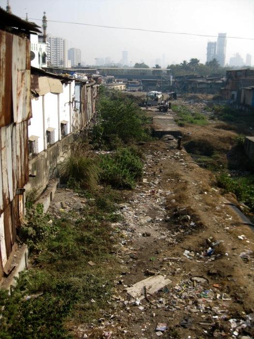 Dharavi Slum dump