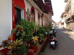 Latin quarter streets scape, Panjim