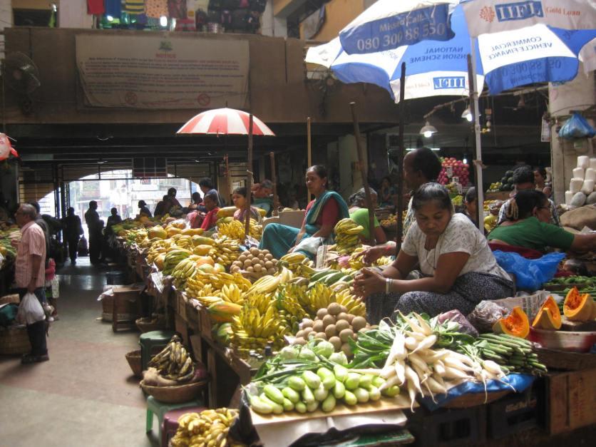 Panjim market ladies