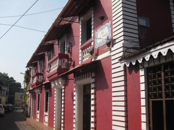 Latin quarter, Panjim