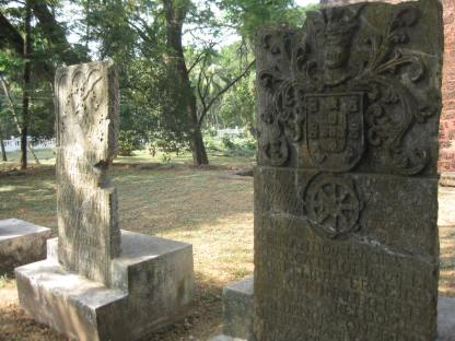 Ancient tombstones, Old Goa