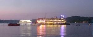 Casino boat, Panjim