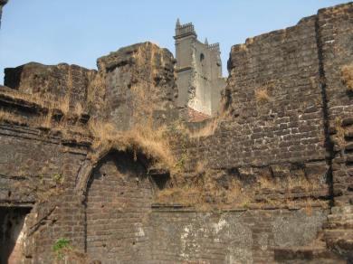 St. Augustine Tower & ruins