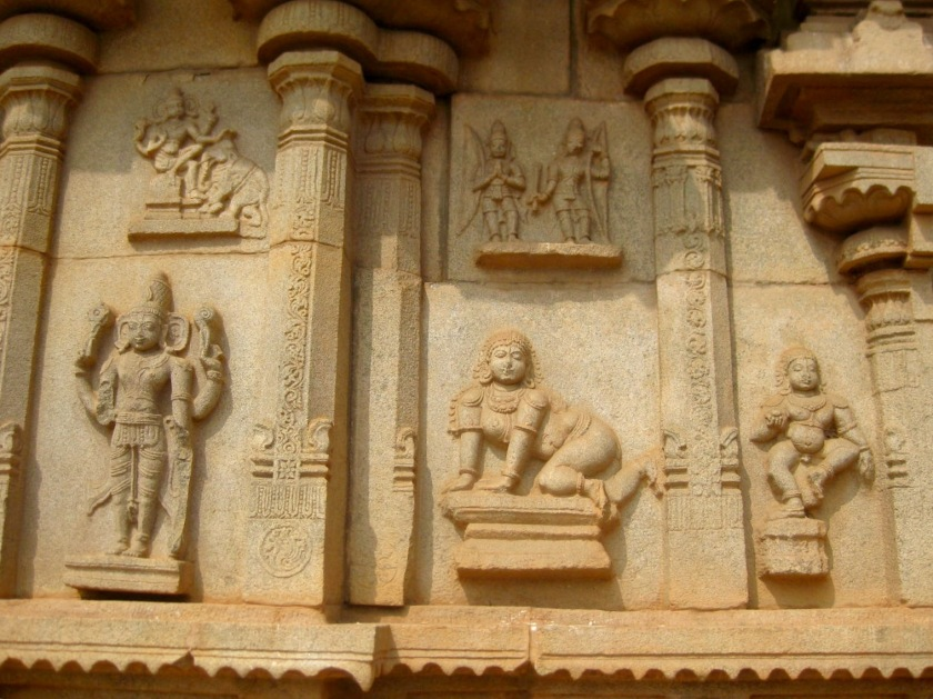 Some interesting temple carvings