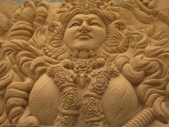 Sand museum sculpture