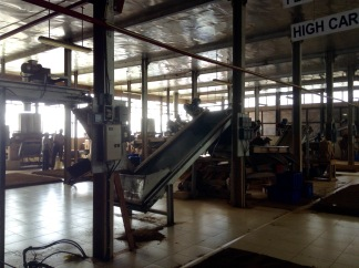 Tea factory machinery