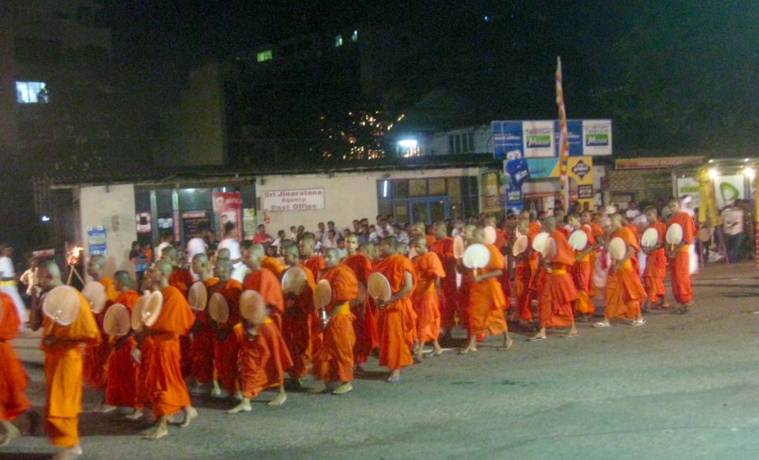 Monks, many, many monks!