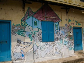 Street art, Fort Cochin