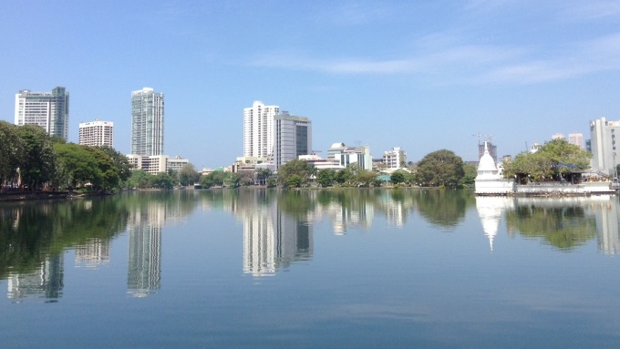 Beira lake & Colombo highrises