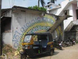 Street art & rickshaw