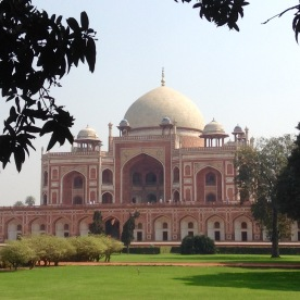 Humayun's tomb, front view