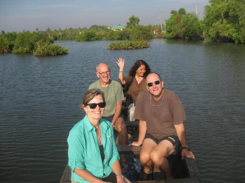 Meri Yosef, & us, Kerala backwaters