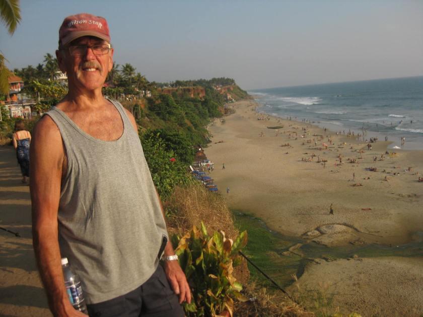 Cliffs of Varcala beach