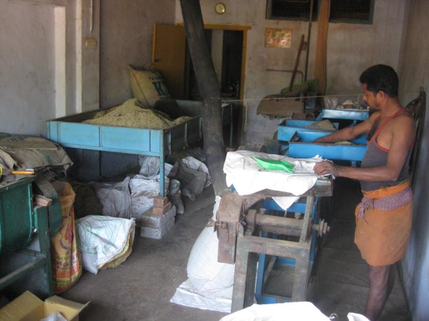 Garuda masala spice grinding