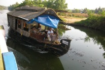 Private houseboat