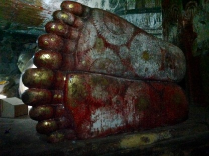 Dead Buddha's foot (one toe shorter than the others)