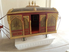 Palanquin to transport the Royal ladies