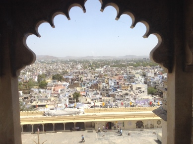 Udiapur from the palace
