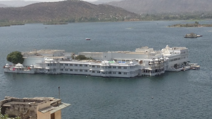 Lake Palace (now a high end hotel)