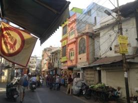 Clock Tower bazaar area
