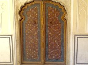 Beautifully restored wooden doors