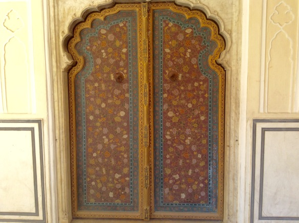 Beautifully restored wooden doors