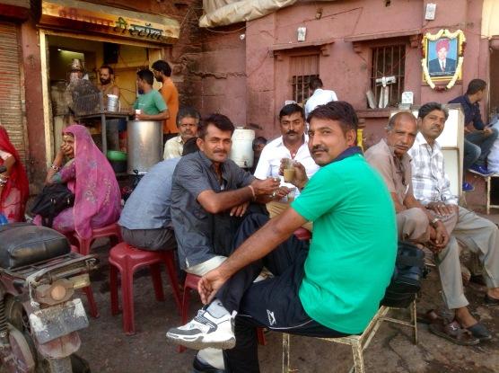Market chai break