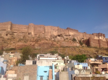 Mehrangarh Fort by day