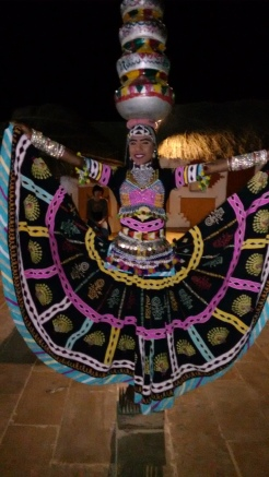 Swirling gypsy skirt