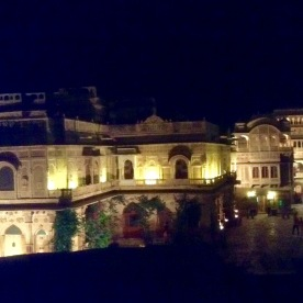 The maharajah's palace