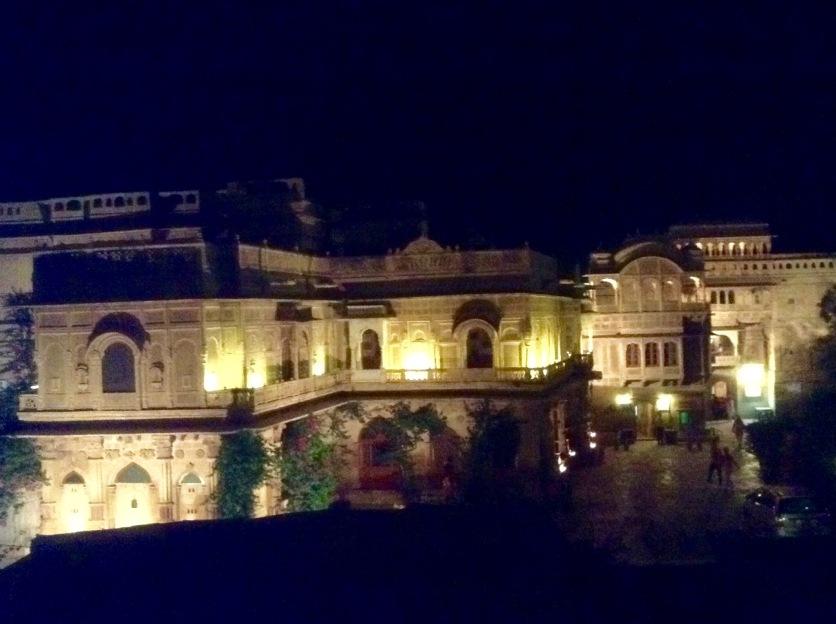 The maharajah's palace