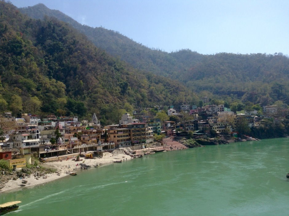 Rishikesh, east side view