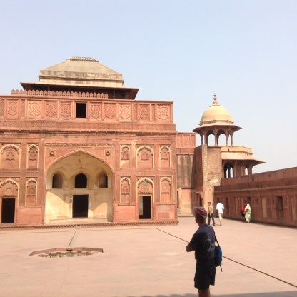 Courtyard Agra Fort