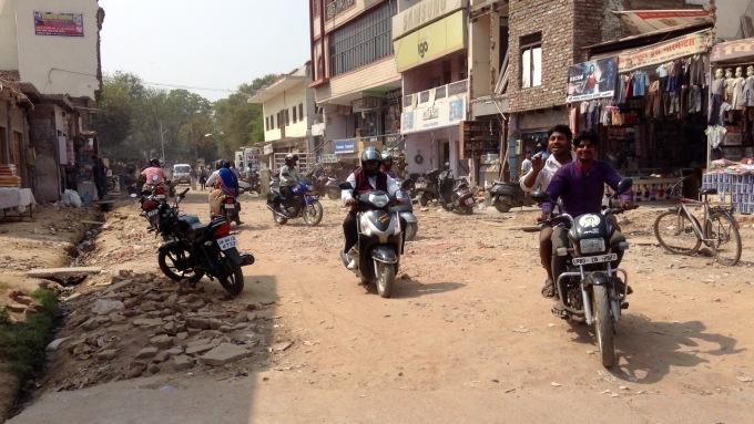 Agra town