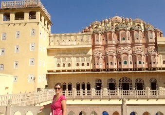 Back side of Hawa Mahal