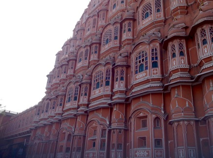 Hawa Mahal at dusk