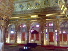 Maharajah's bedroom/harem