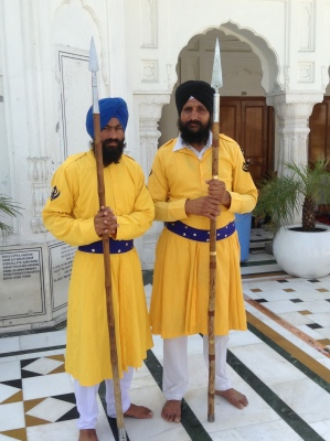Guards at the Golden Palace