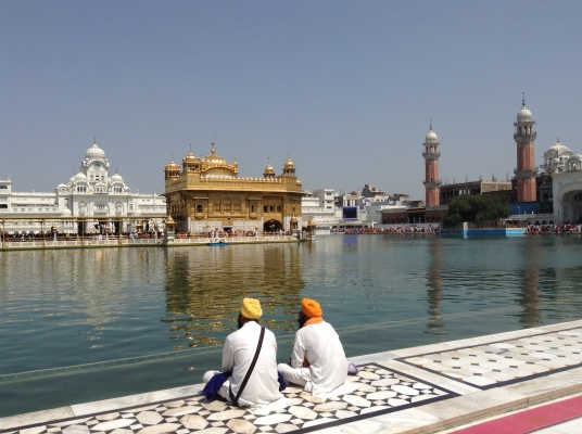 Golden Temple during day