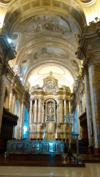 Inside Cathedral Metropolitana