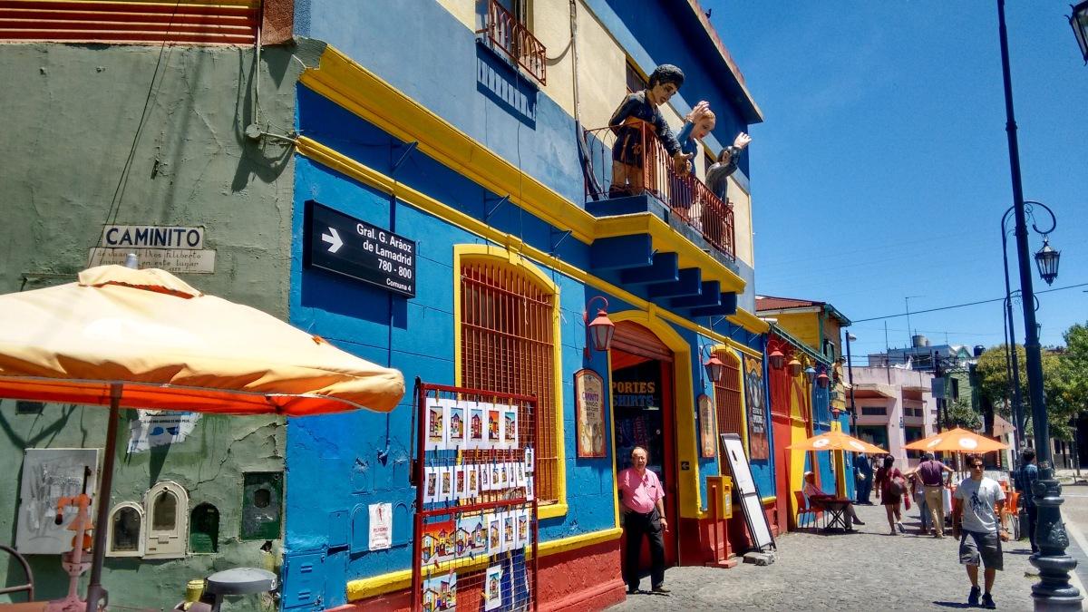 Colourful La Boca