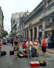 Street band San Telmo