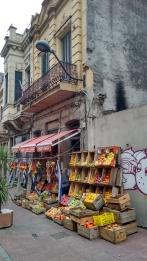 Market in port area