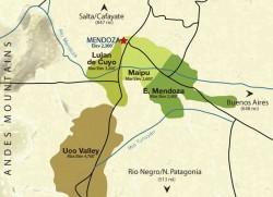 Mendoza wi e regions