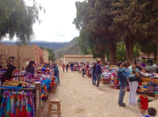 Pumamarca market